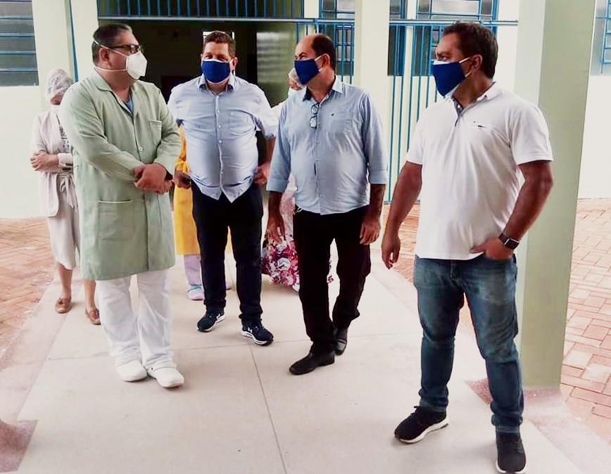 Em Plácido de Castro, vice-governador acompanha ações de combate e tratamento ao coronavírus