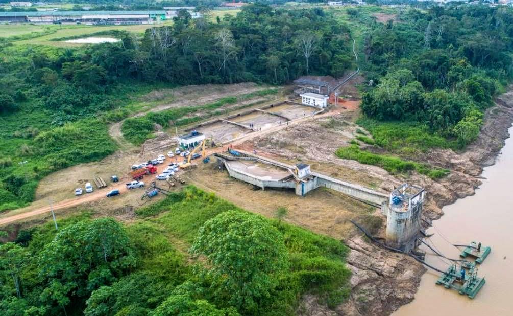 Governo age para manter abastecimento de água em Rio Branco