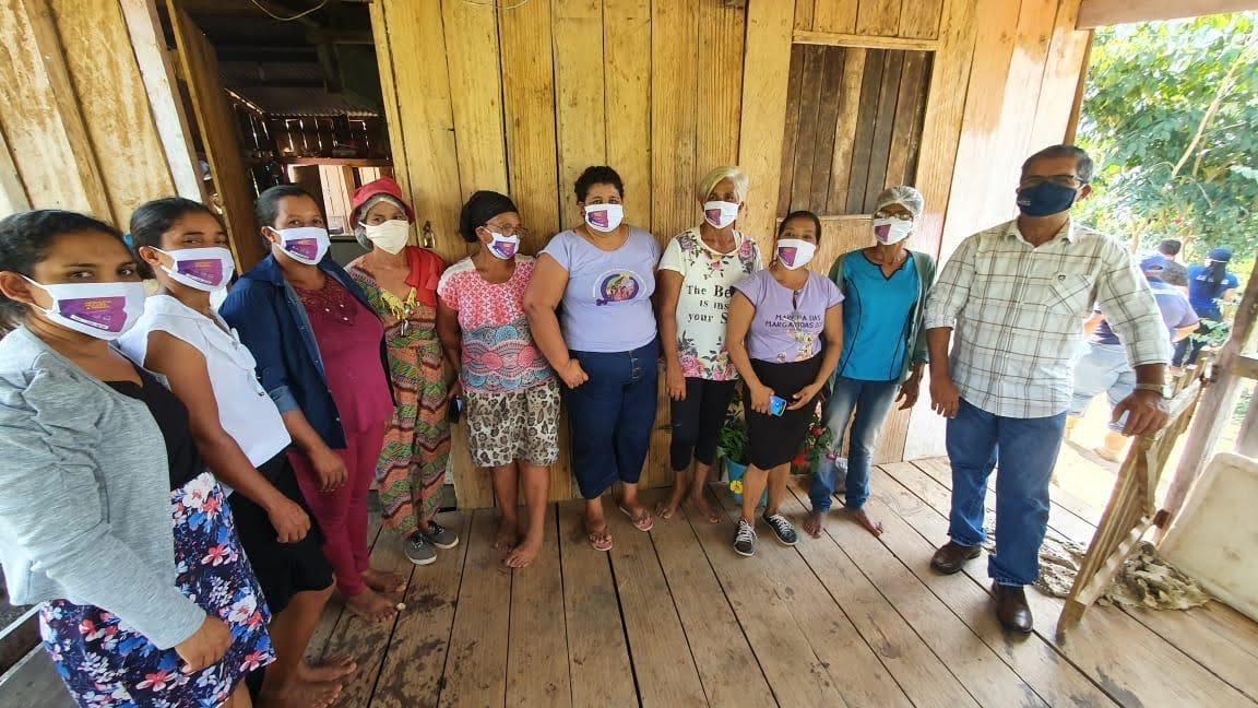 Governo leva políticas públicas para produtoras do Projeto de Assentamento Walter Arce