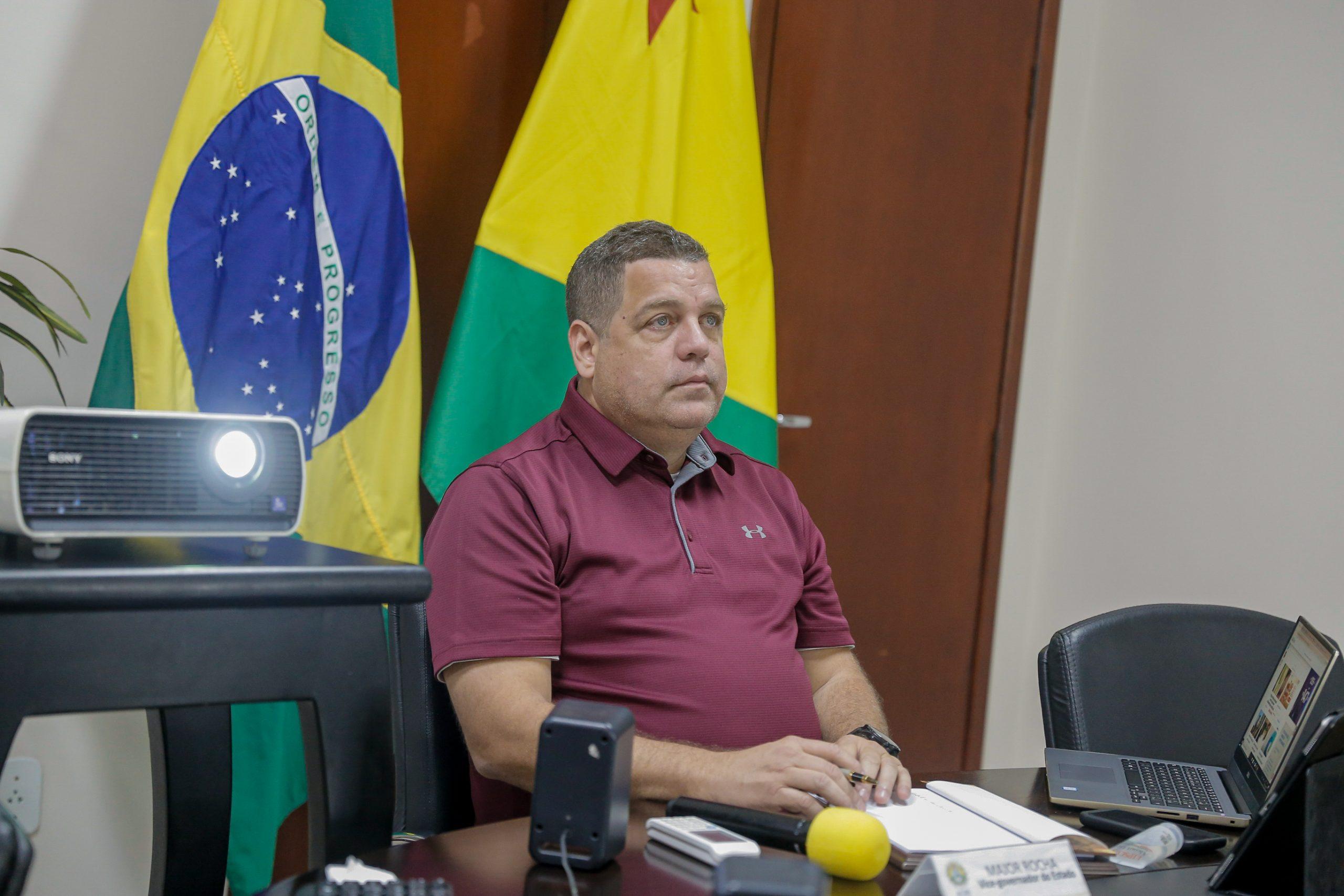 Acre participa devideoconferência do Conselho da Amazônia Legal coordenada pelo vice-presidente da República