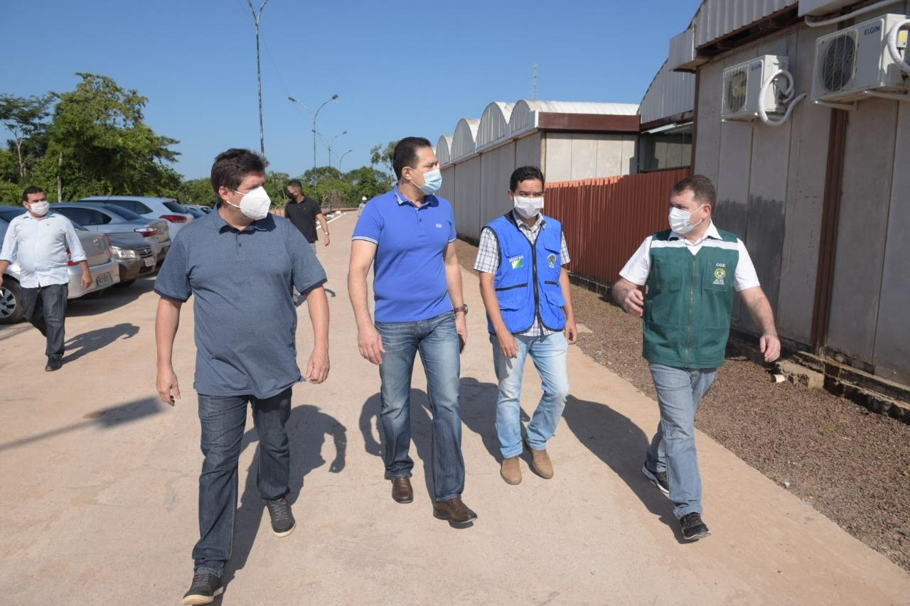 Governo entra nos preparativos finais do Hospital de Campanha de Rio Branco