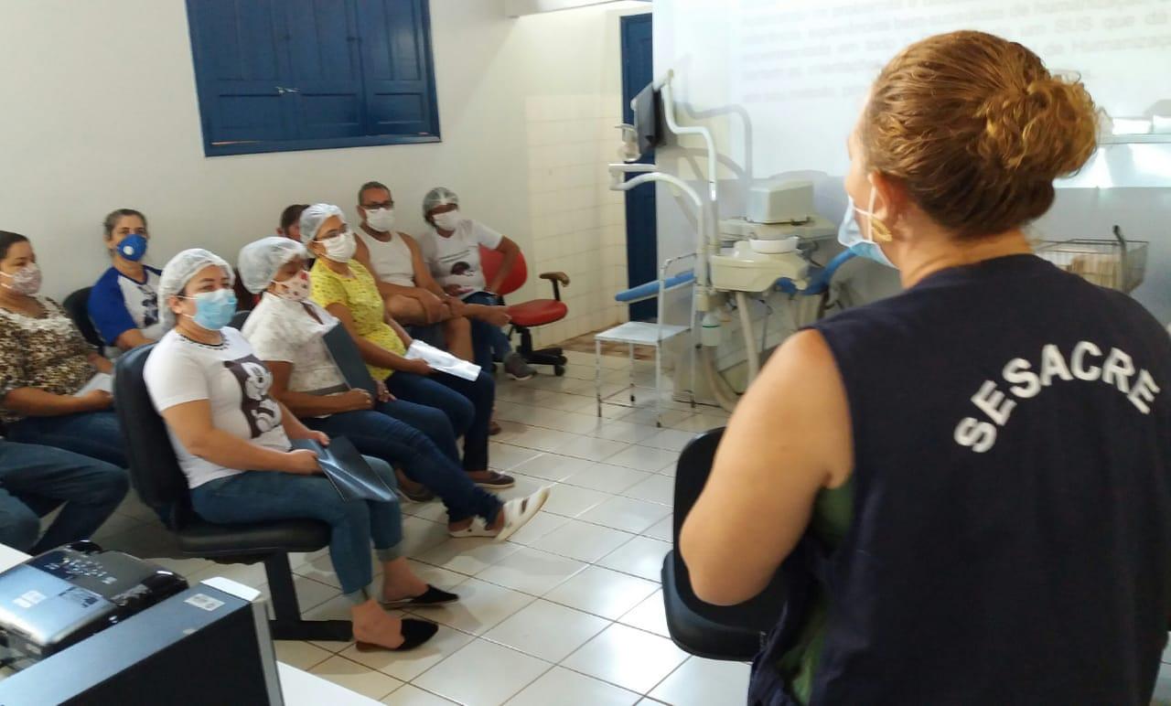 Capacitação em humanização e acolhimento é realizada em Plácido de Castro