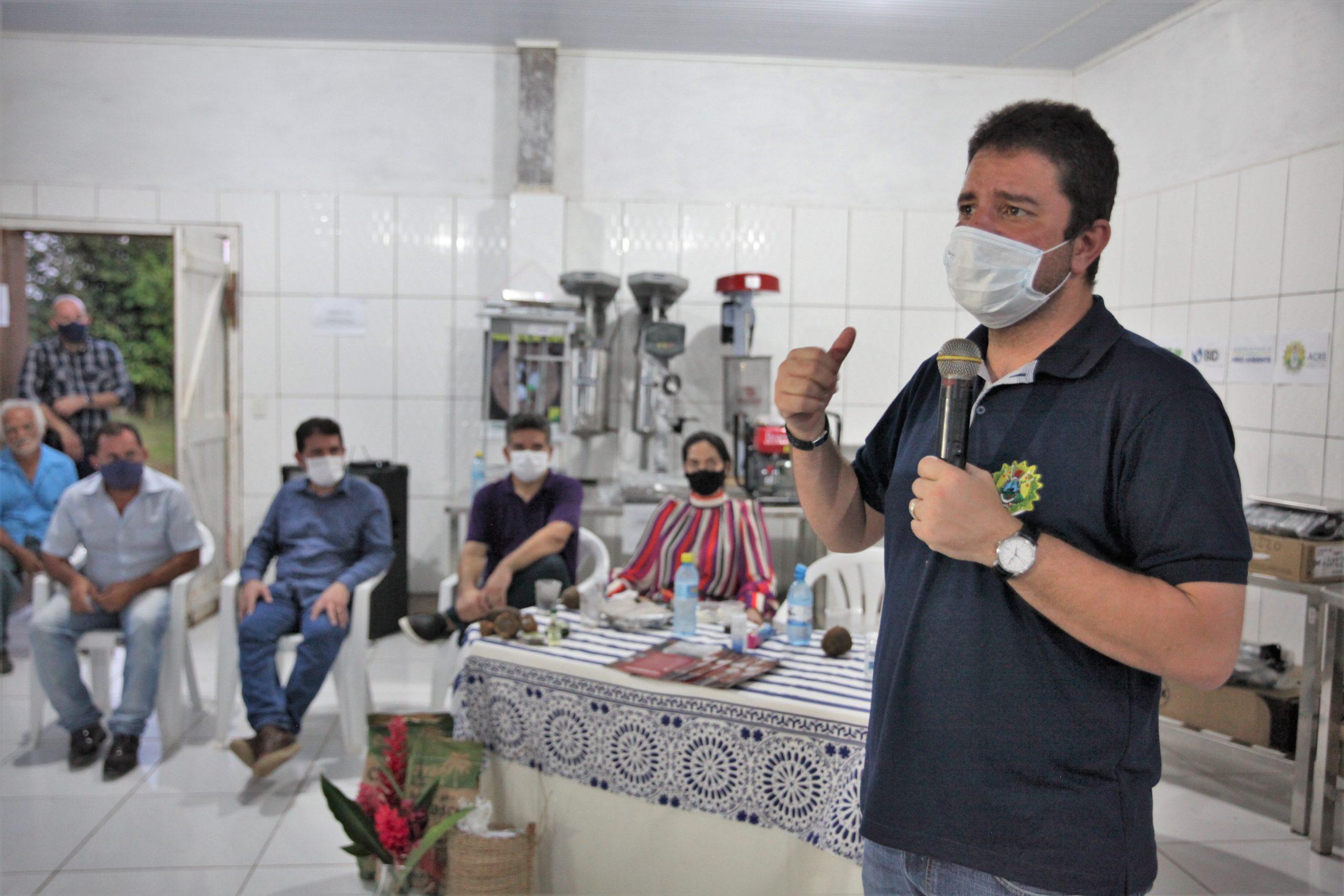 Governo entrega duas agroindústrias no Complexo de Florestas do Rio Gregório, em Tarauacá