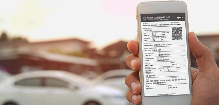 Mais de 17 mil proprietários de veículos já emitiram documento pelo site do Detran nos últimos três meses