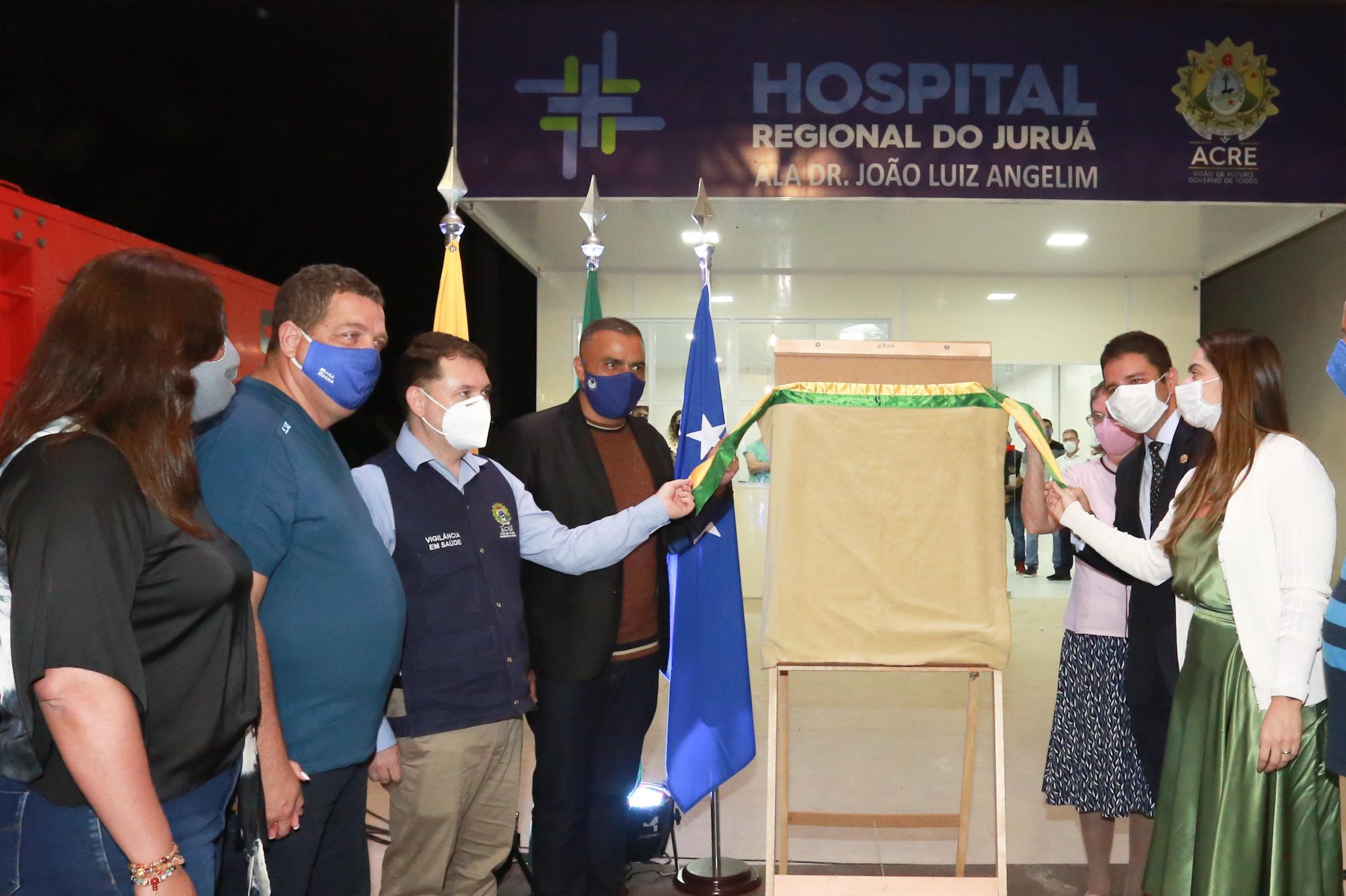 Governo inaugura Hospital de Campanha de Cruzeiro do Sul e consolida avanço histórico na Saúde do Juruá
