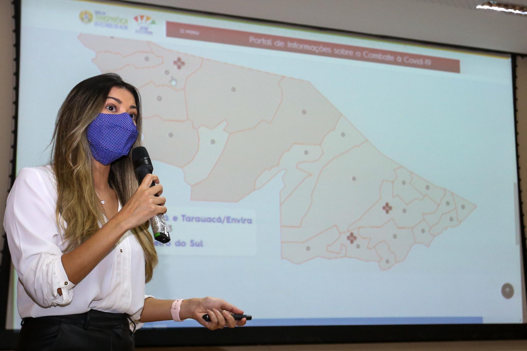 Novo portal de informações sobre Covid-19 no Acre reúne dados e orientações