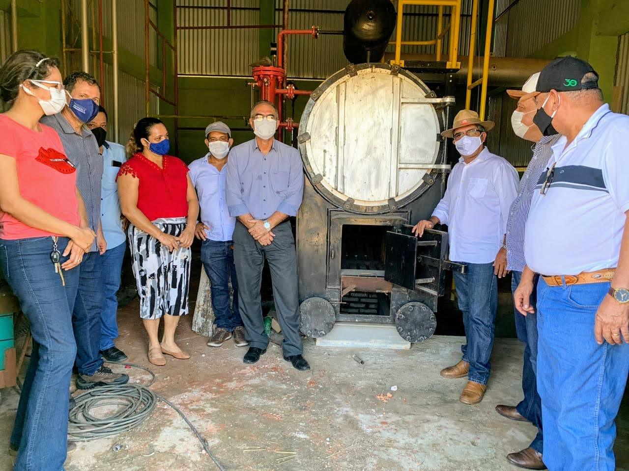 Governo articula retorno da agroindústria de palmito da Bonal