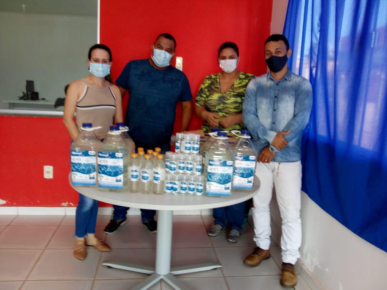 Hospital de Sena Madureira recebe álcool em gel produzido pela Funtac