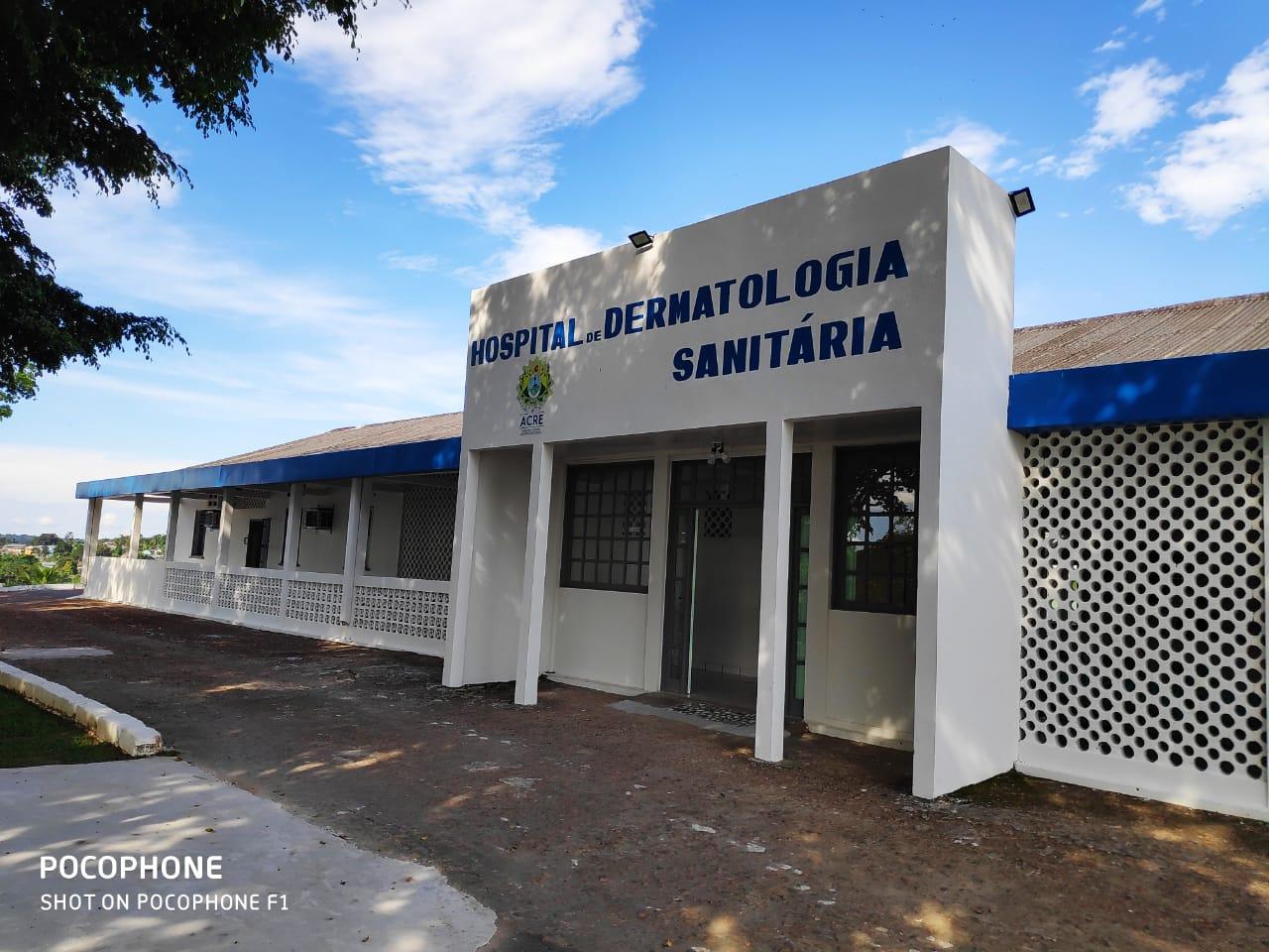 Hospital Dermatológico de Cruzeiro do Sul começa a receber pacientes para atendimentos não Covid