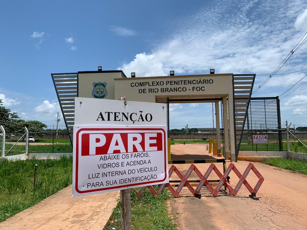 Iapen prorroga suspensão de visitas aos presídios do Acre por mais 15 dias