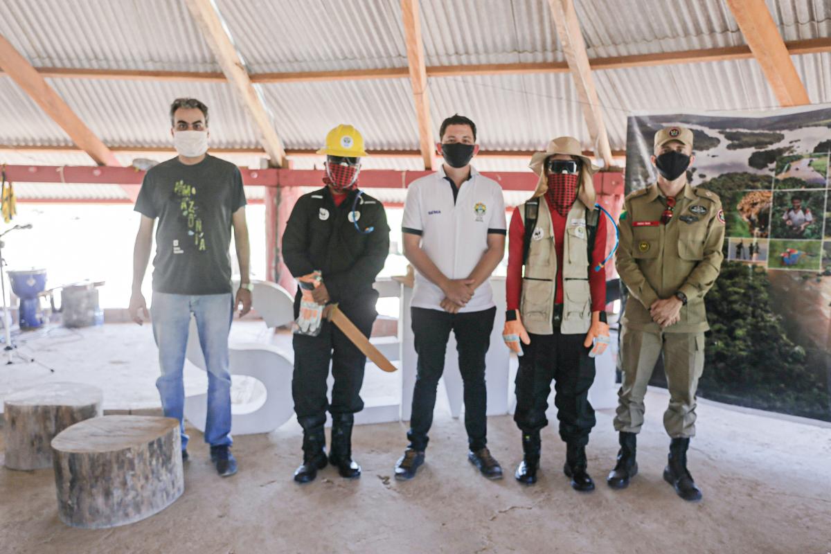 Governo capacita brigadistas voluntários para combater incêndios nas unidades de conservação