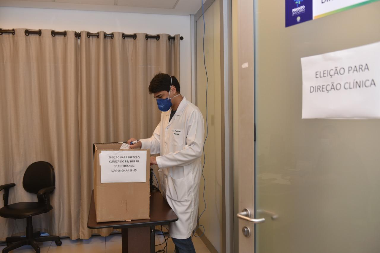 Pronto-Socorro de Rio Branco realiza eleição para cargo de diretor clínico