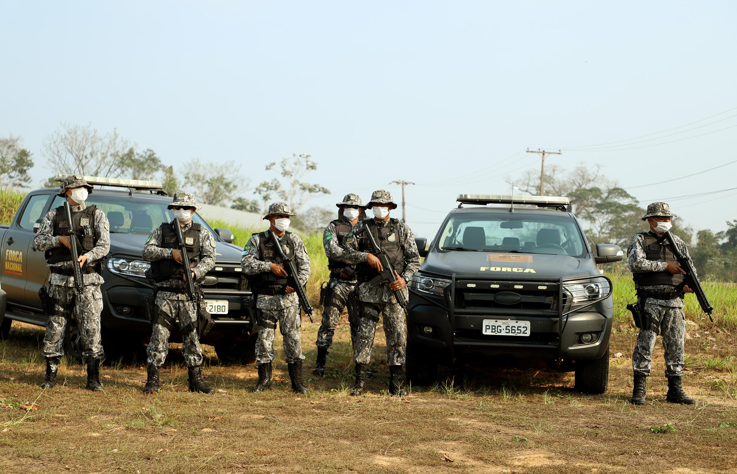 Acre recebe reforços da Força Nacional, ICMBio e Ibama no combate às  queimadas | Notícias do Acre