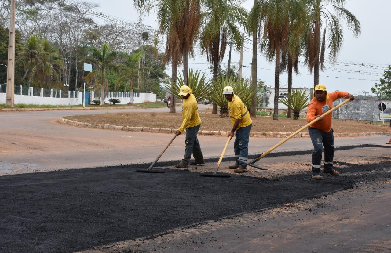 Governo segue com obras de manutenção nas três principais estradas estaduais