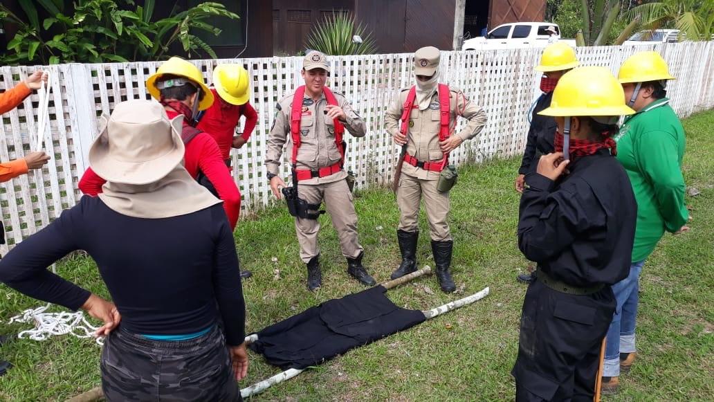 Juruá recebe mais duas capacitações de brigadistas comunitários voluntários para combater queimadas
