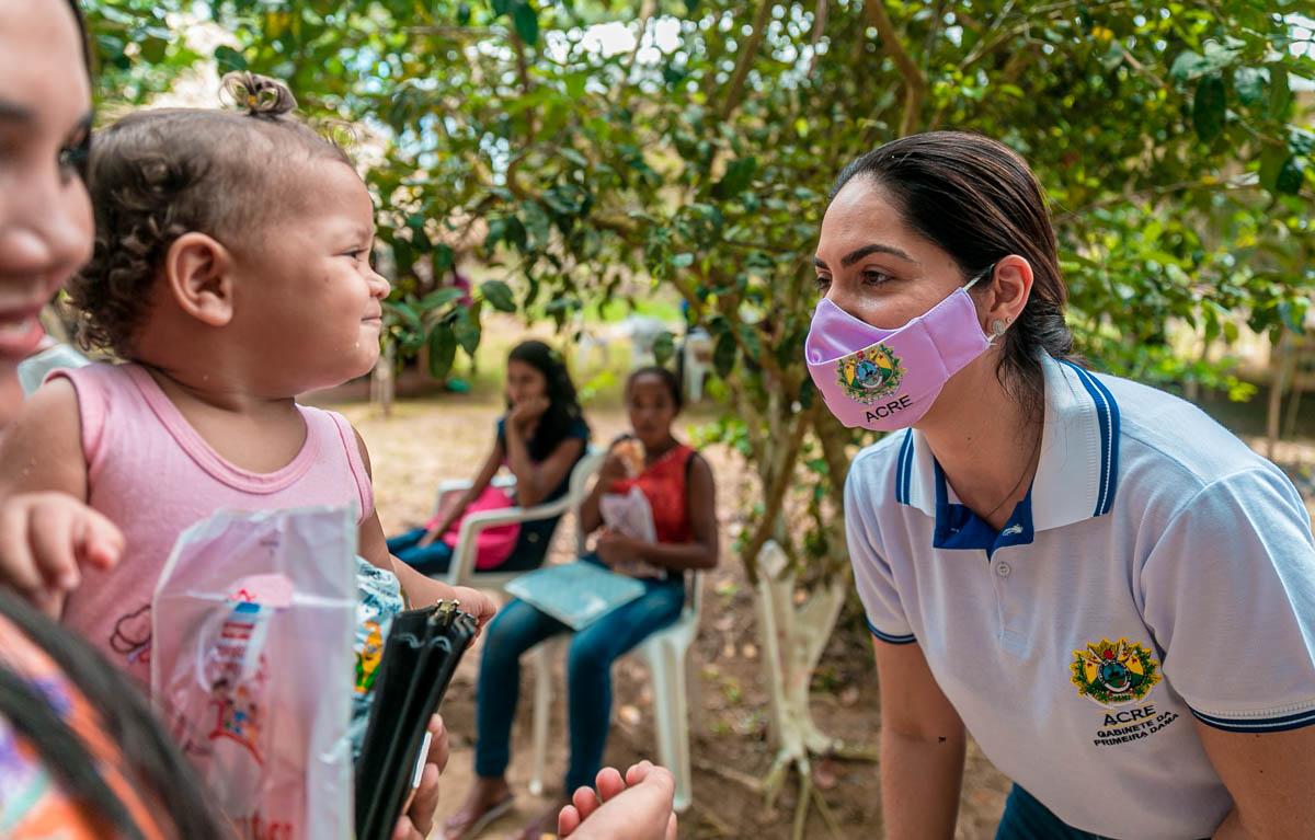 Governo do Estado e instituições parceiras levam ações de saúde à Comunidade do Rio Croa