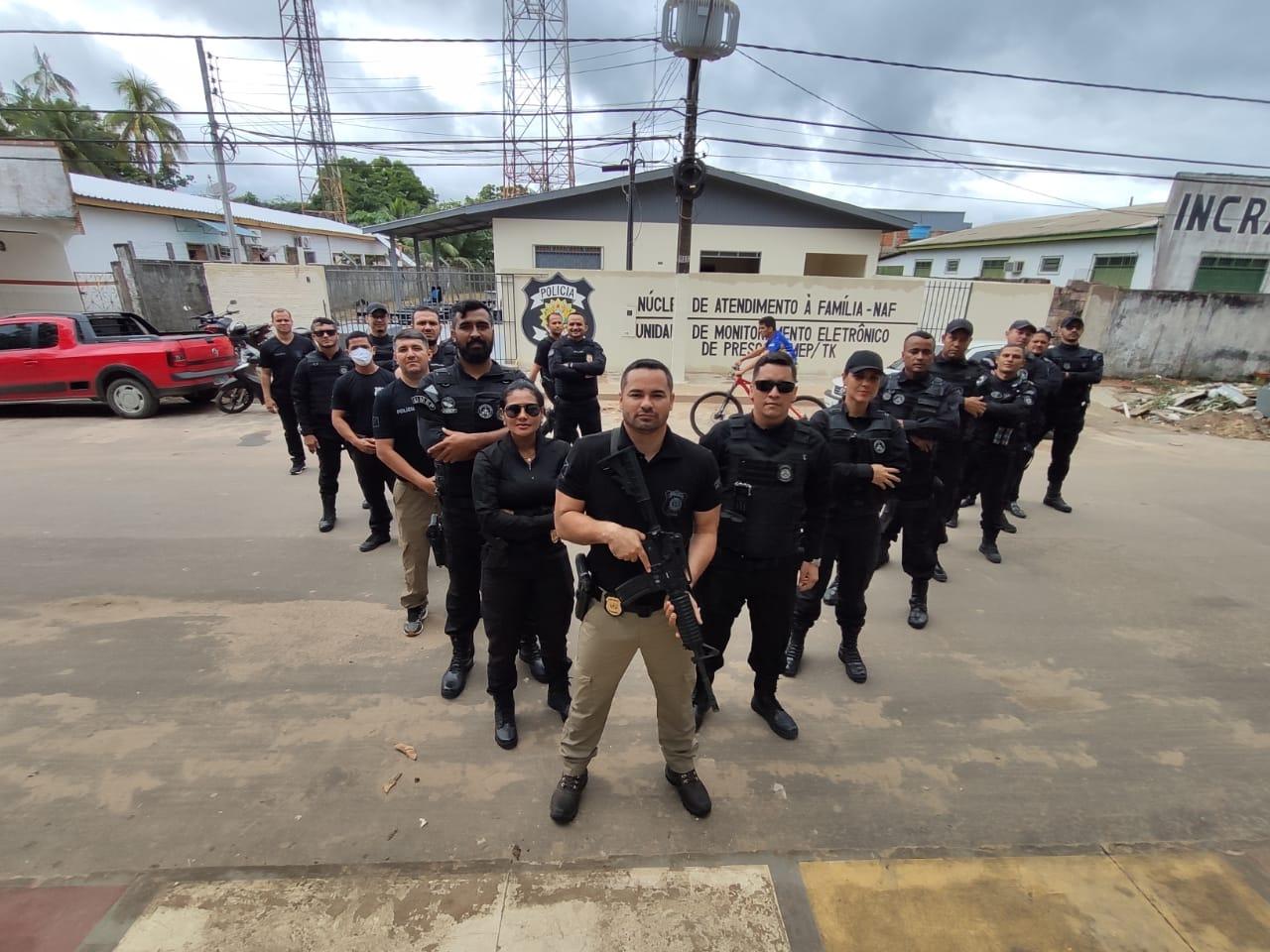 Unidade de Monitoramento Eletrônico e Núcleo de Atendimento à Família são inaugurados em Tarauacá