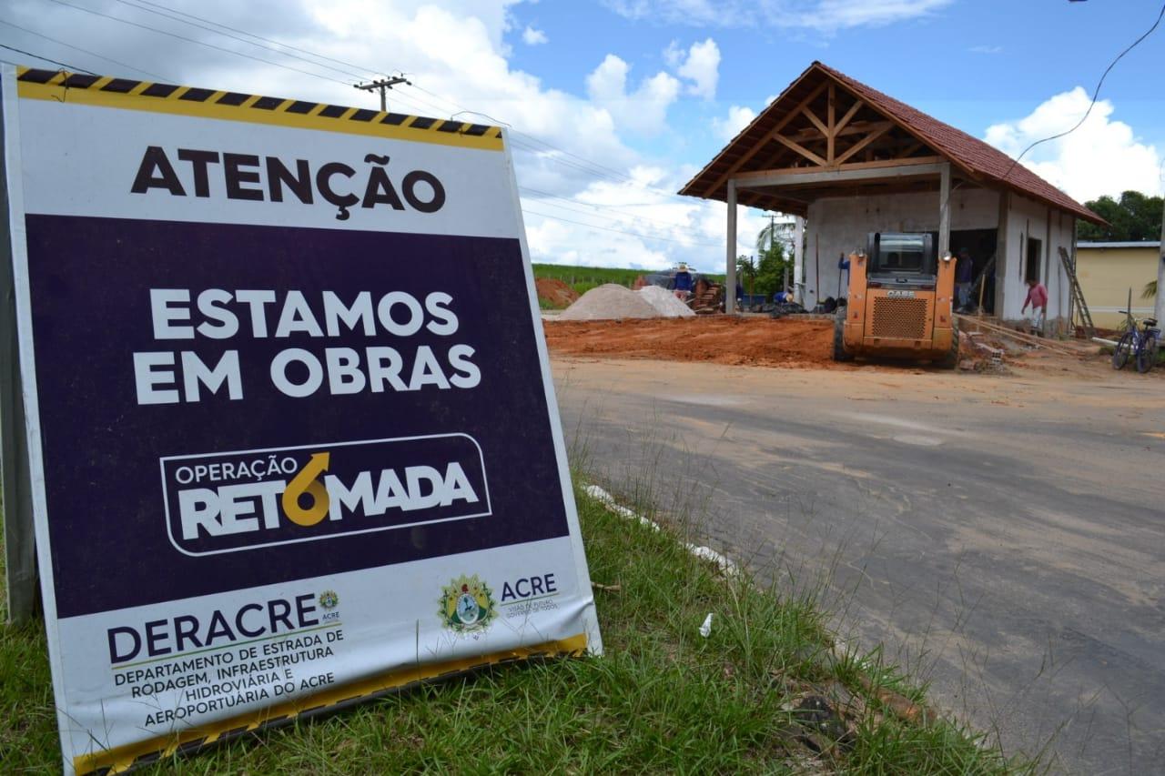 Governo garante reforma de posto policial em rodovia de Cruzeiro do Sul
