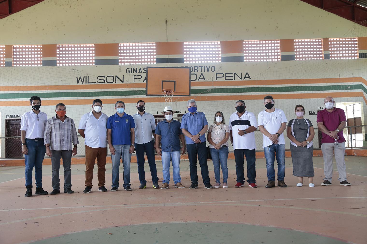 Governo vai revitalizar ginásio de Plácido de Castro