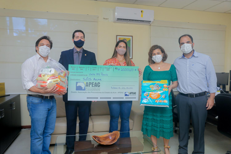 Doações no Acre reforçam solidariedade a famílias em situação de risco