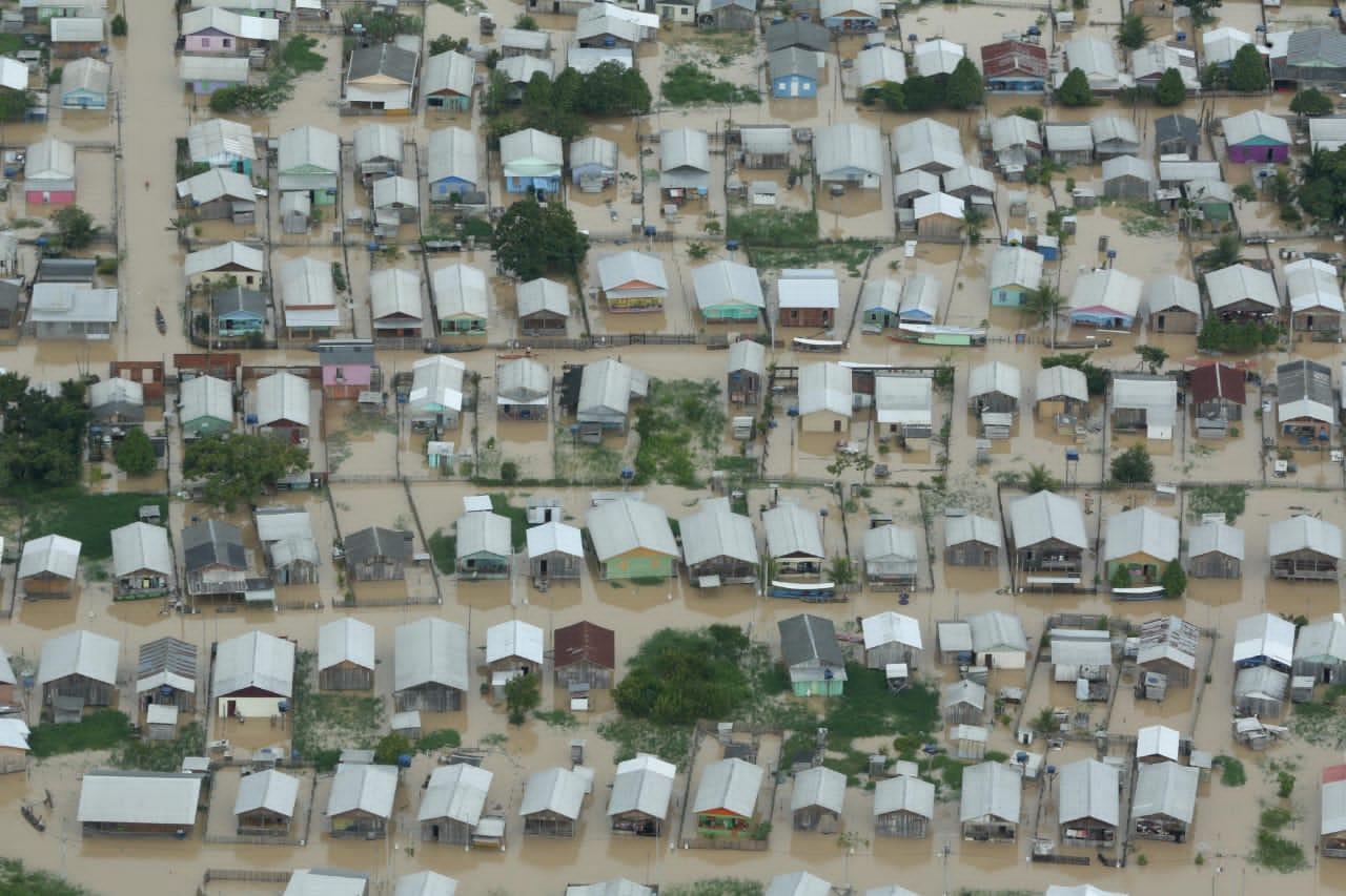 Governo do Acre decreta estado de calamidade pública em dez cidades afetadas por enchentes