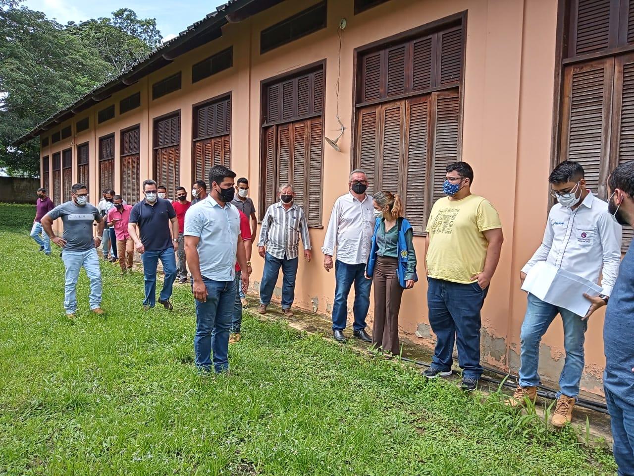 Em Plácido de Castro, escola de educação profissional será reformada e ampliada