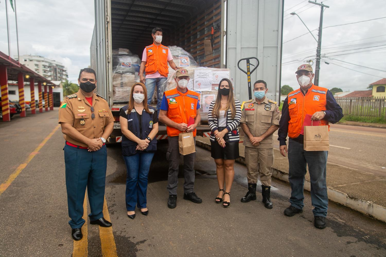 Solidariedade: Acre recebe donativos do Estado do Paraná