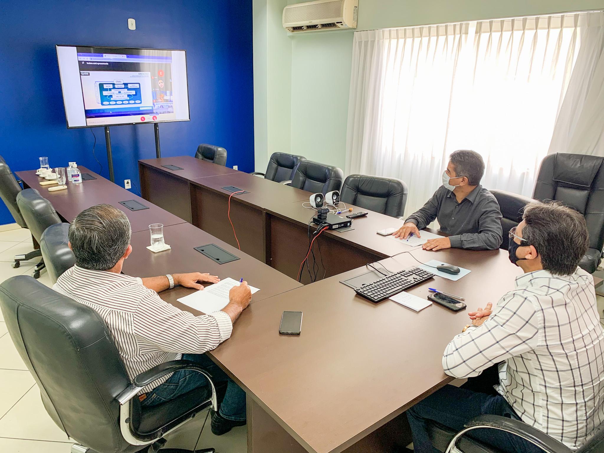 Governo participa de reunião sobre criação de zona de desenvolvimento entre Amazonas, Acre e Rondônia