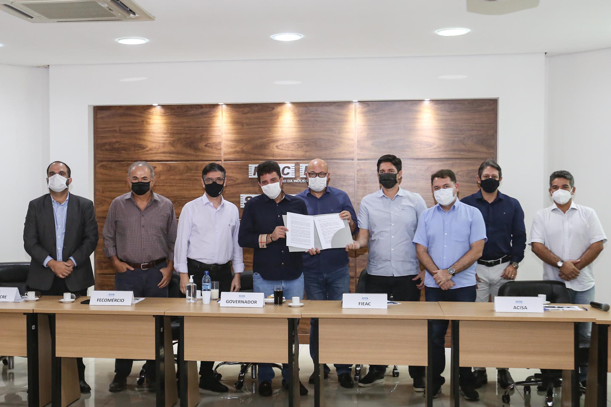 Cameli recebe carta do setor empresarial com propostas de enfrentamento ao coronavírus