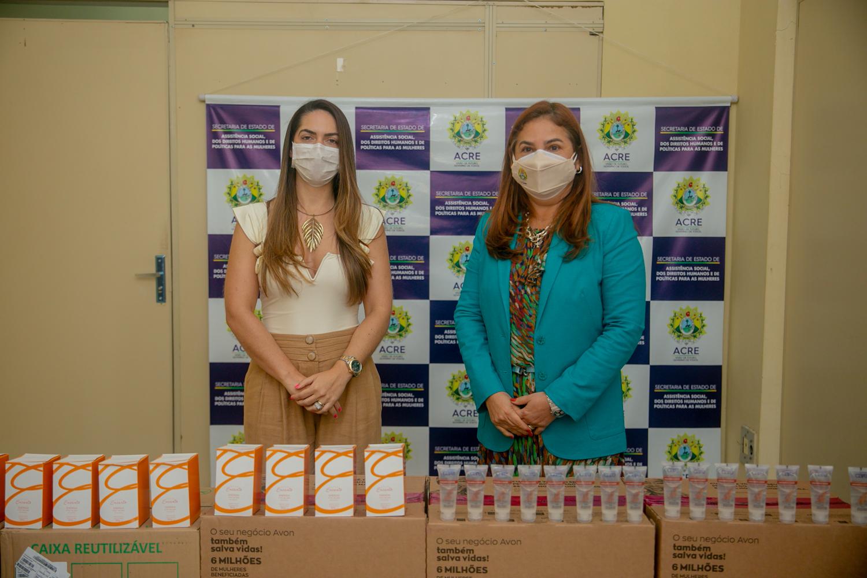 Estado recebe doação de 40 mil produtos de higiene pessoal