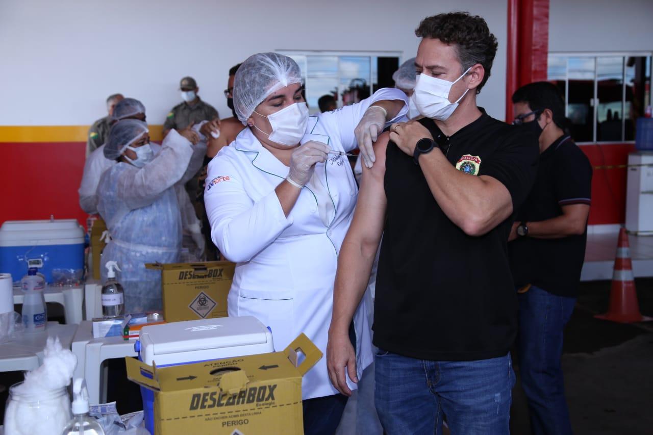 Justiça determina retomada da vacinação para as forças de Segurança do Acre