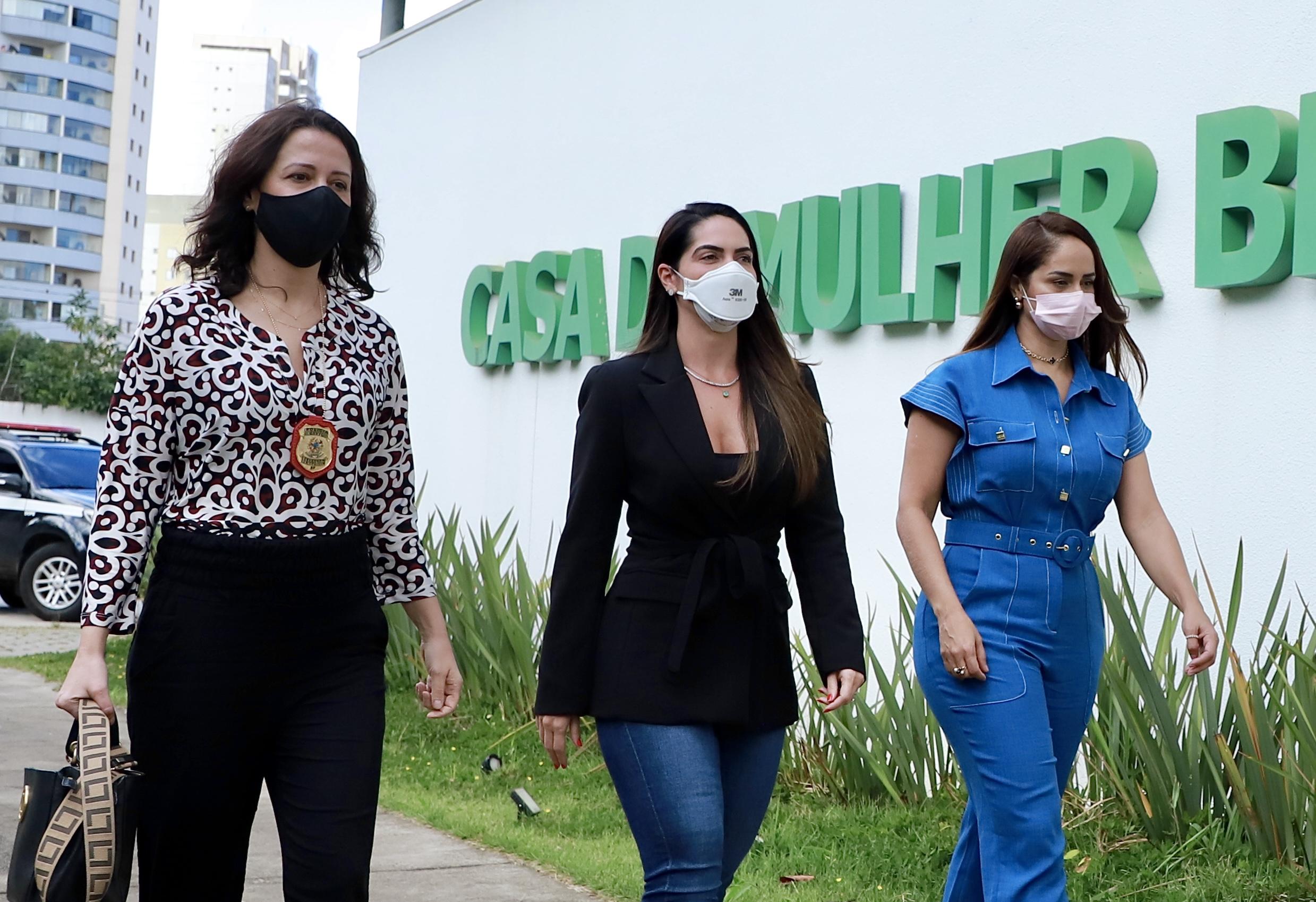 Primeira-dama do Acre realiza visita técnica a Casa da Mulher Brasileira, em São Paulo