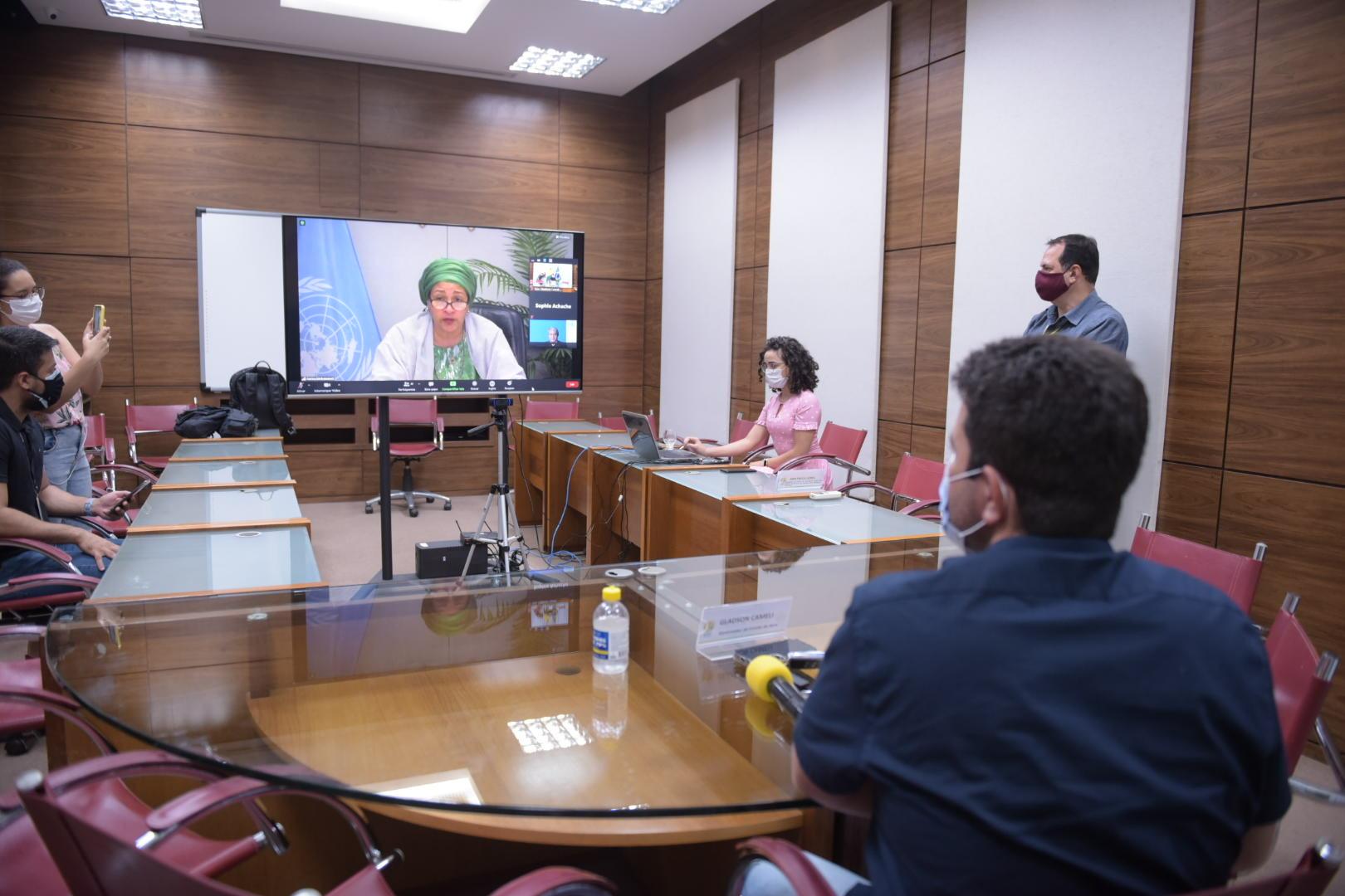 Em reunião com a ONU, governadores reforçam pedido de ajuda internacional contra a Covid-19