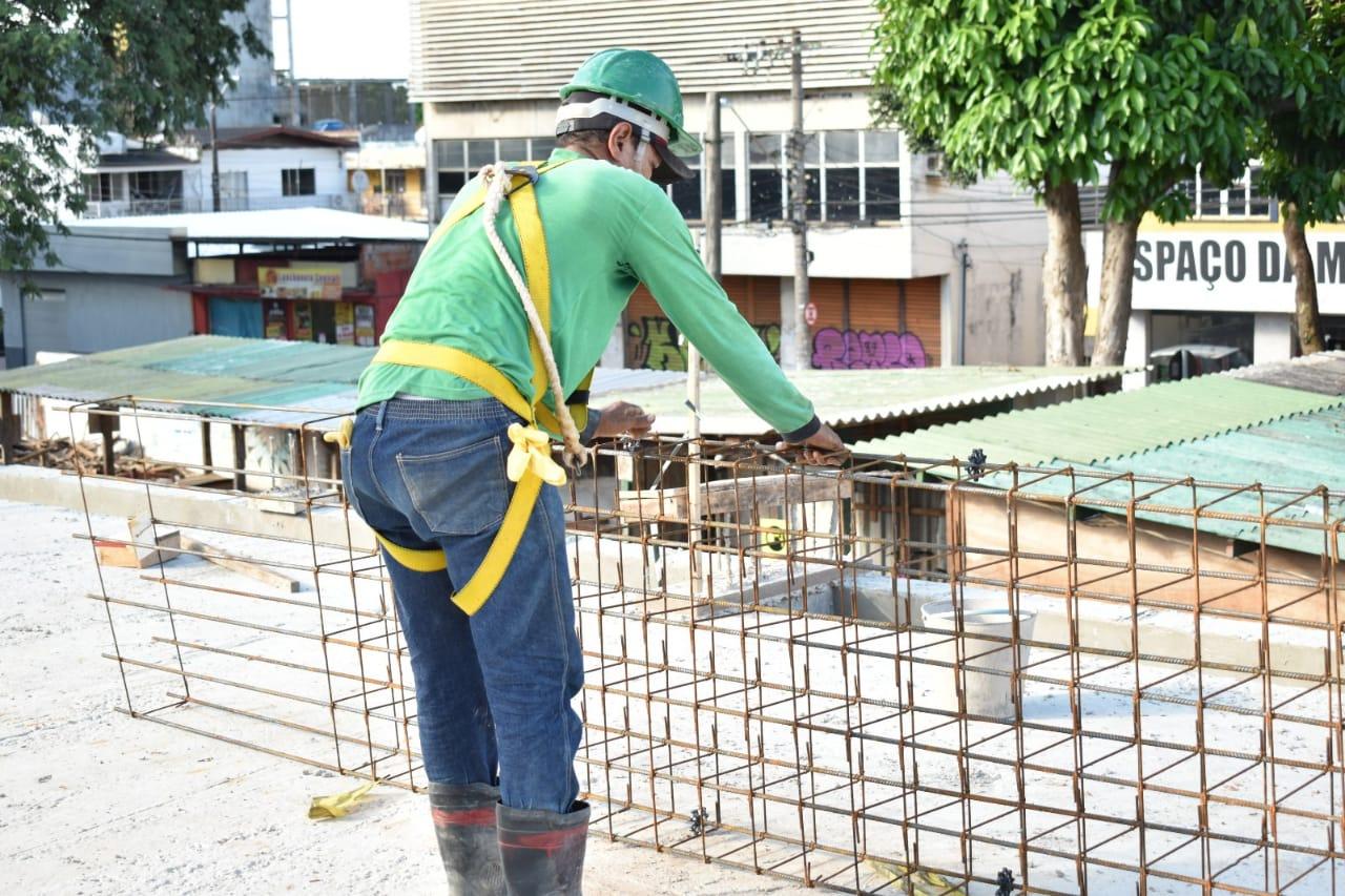 Obras do governo geram emprego e renda a trabalhadores da construção civil