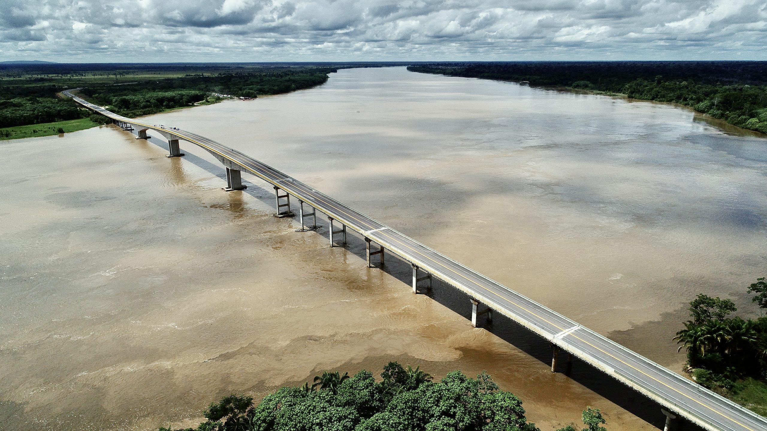 Ponte do Abunã, sobre o Rio Madeira, será inaugurada nesta sexta