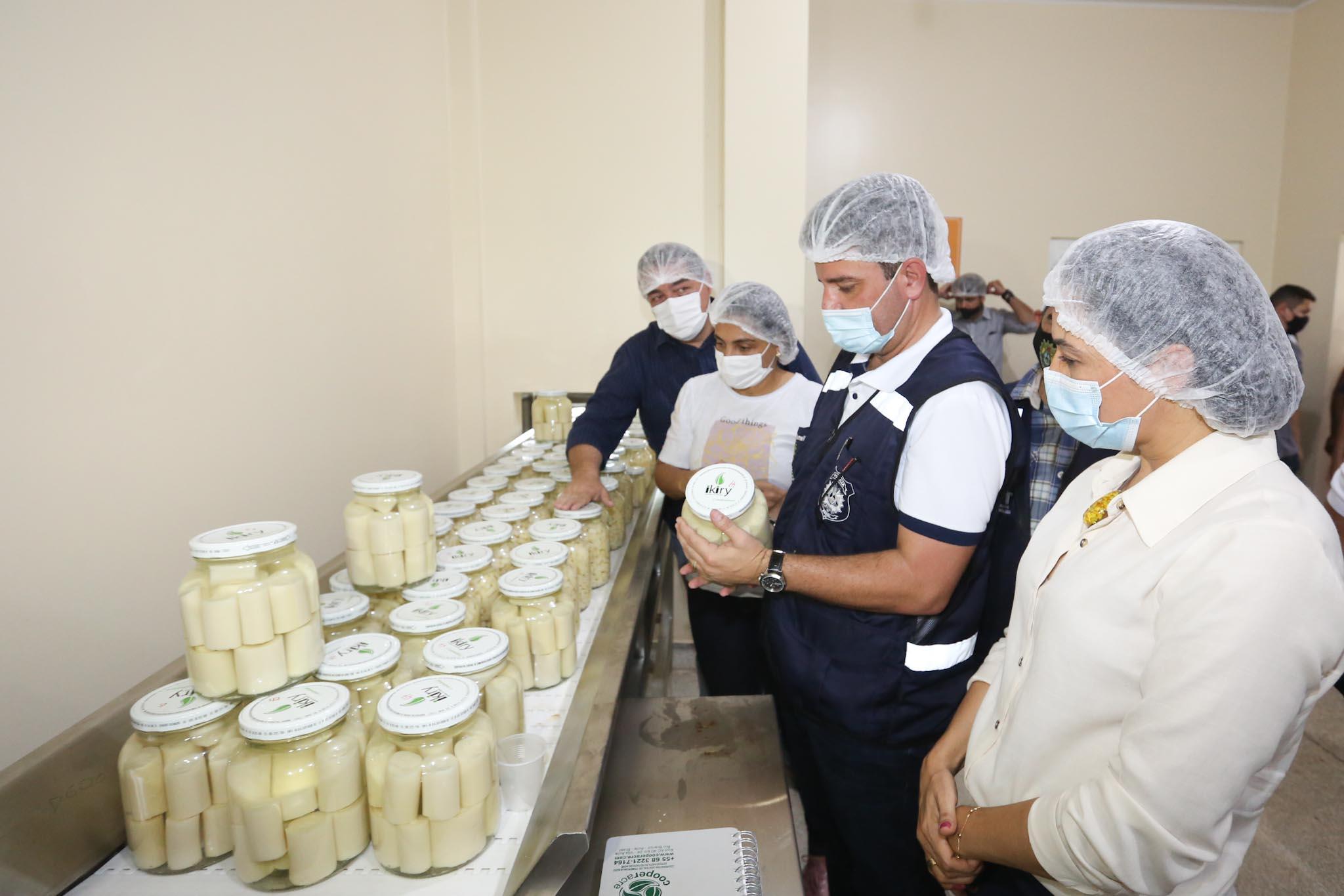 Governo inaugura indústria de palmito que beneficiará mais de 200 famílias