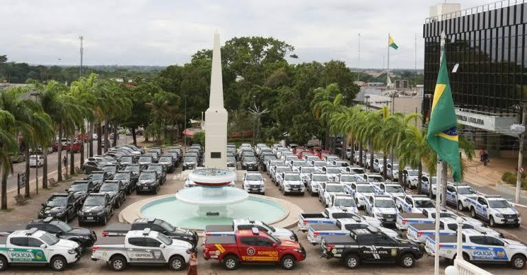 Em dois anos de gestão, governo fortalece segurança pública com o reforço de mais 273 veículos