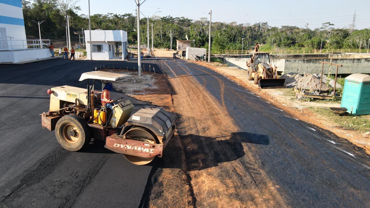 Obra da Estação de Tratamento de Água de Rio Branco está em fase de conclusão