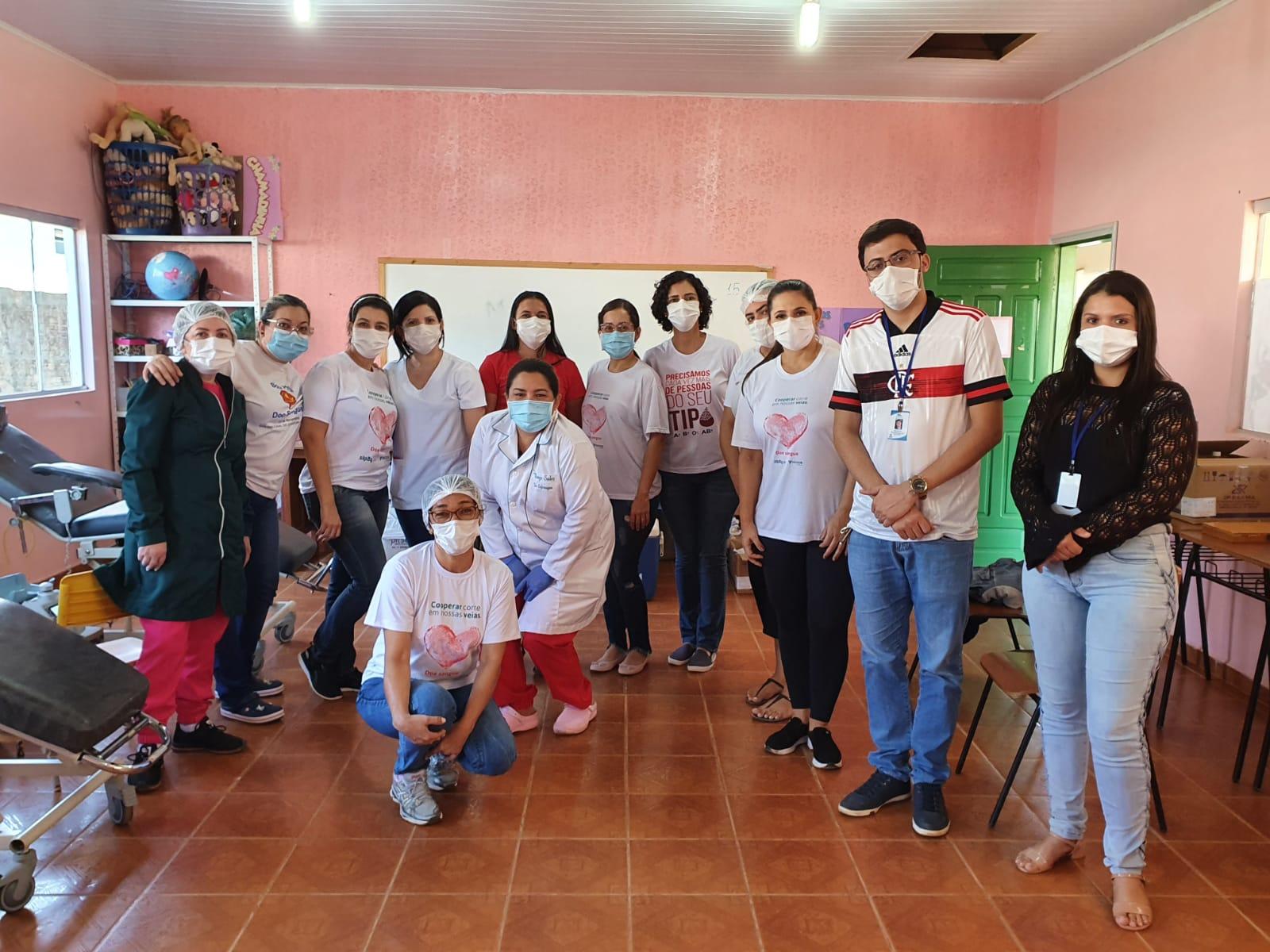 Em Acrelândia, Estado realiza evento voltado para doação de sangue