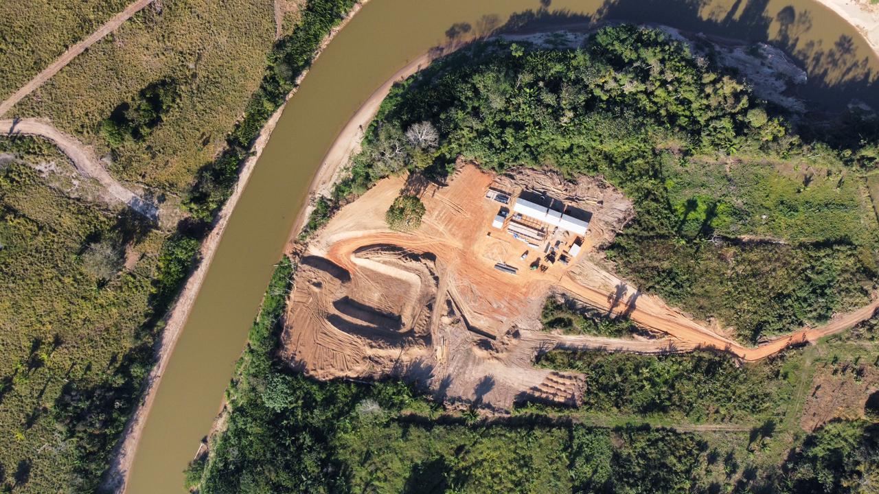 Com obras em andamento, fundações e pilares da ponte do anel viário de Brasileia e Epitaciolândia devem ficar prontos até o fim do ano