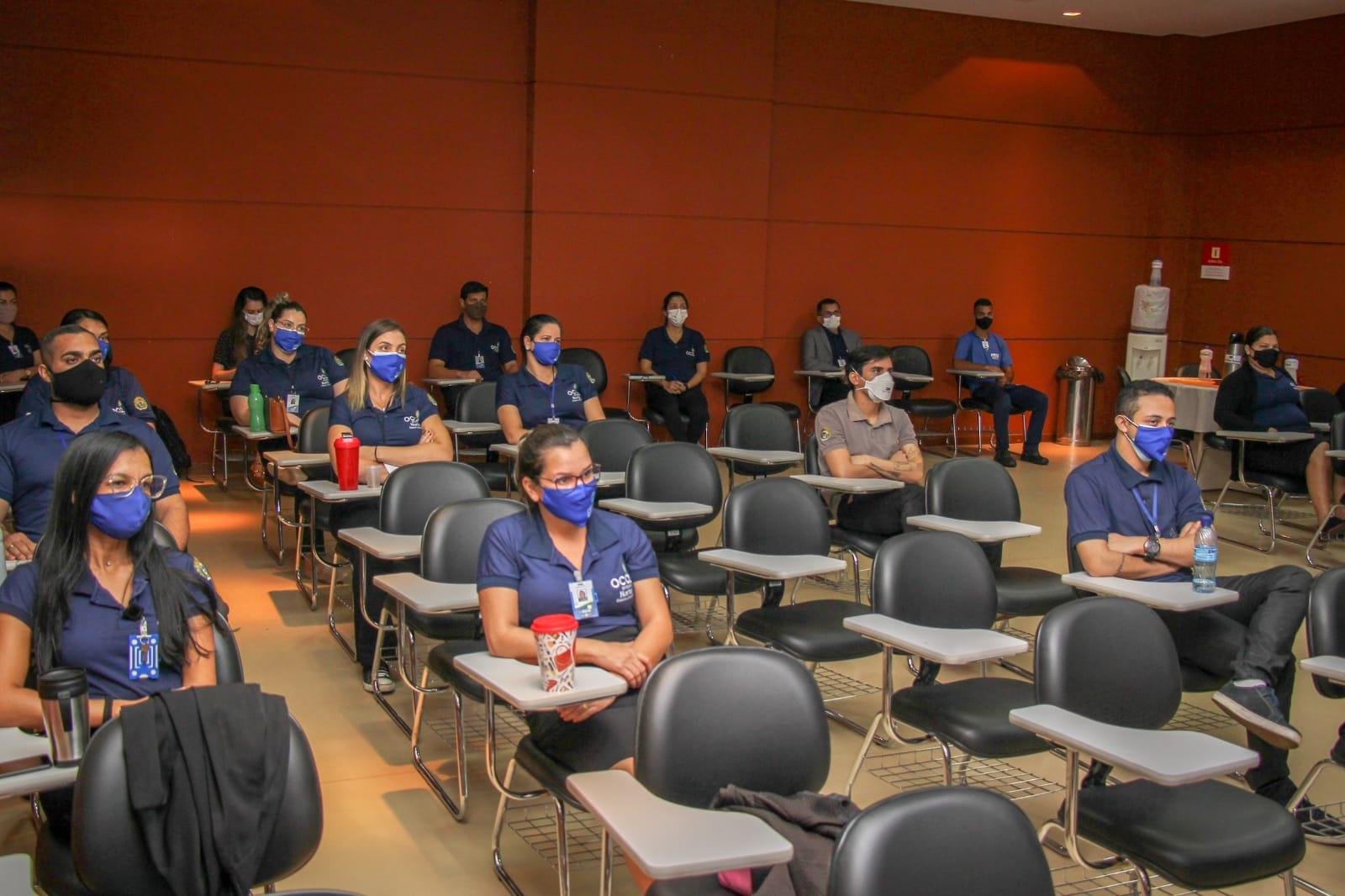 OCA realiza capacitação de colaboradores para compor brigada de incêndio