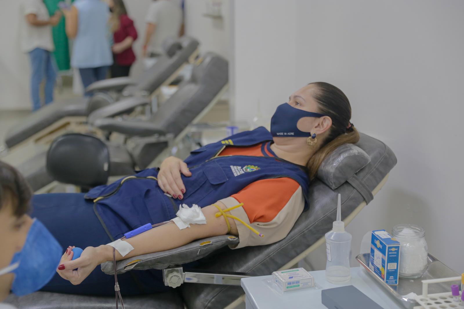 Banco de sangue do Acre necessita diariamente de novas doações