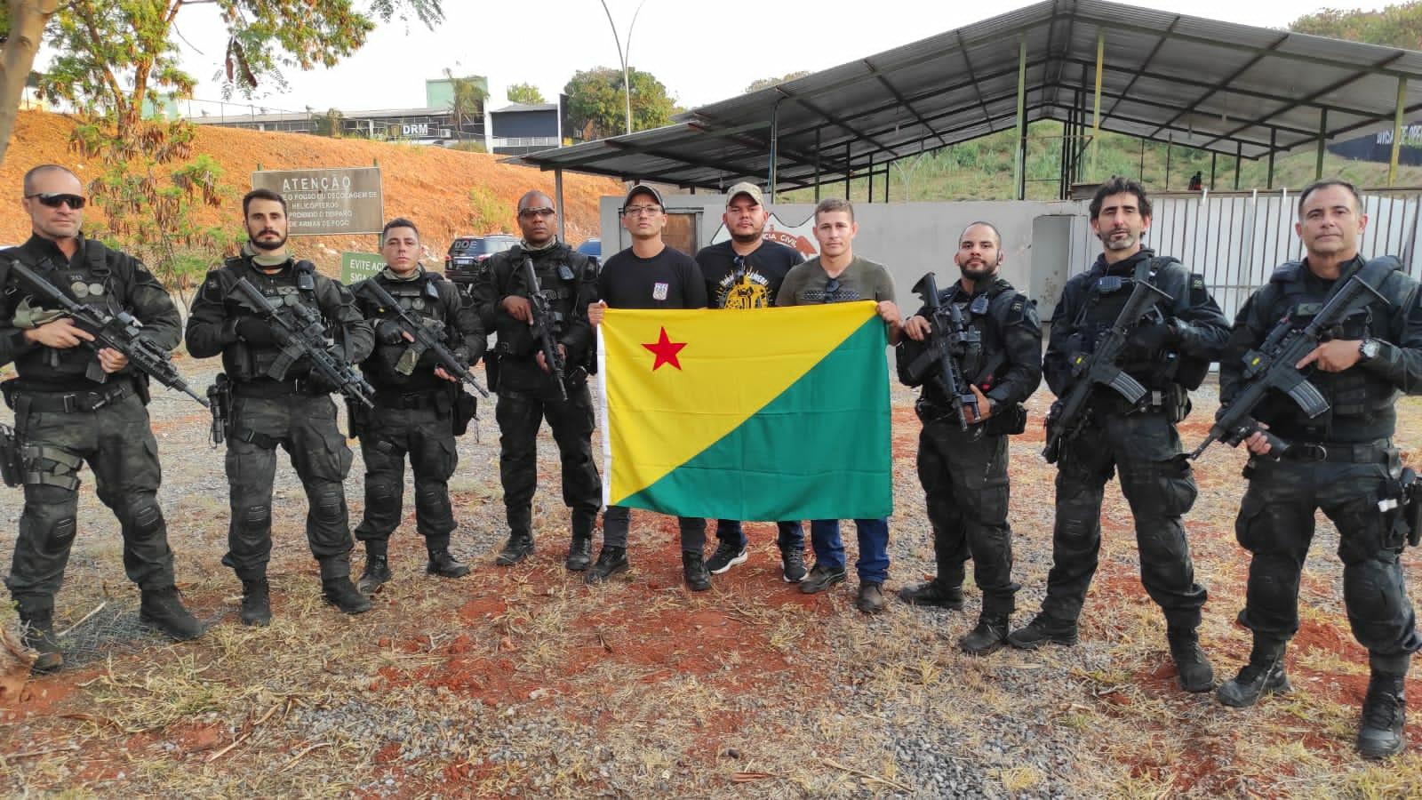 Policiais militares do Acre participam de workshop de produção audiovisual em Brasília