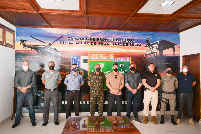 Segurança anuncia implantação de base do Gefron no Juruá