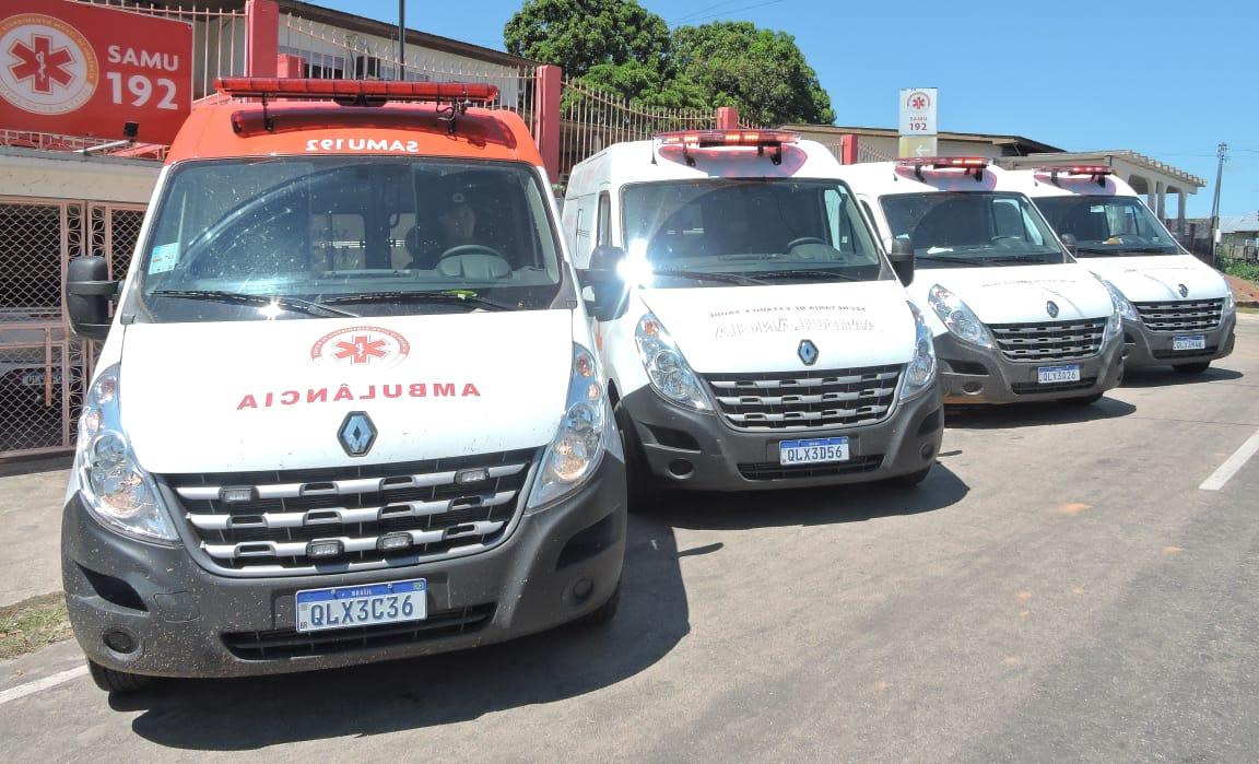 Estado renova frota da Saúde no Juruá com a entrega de oito novas ambulâncias