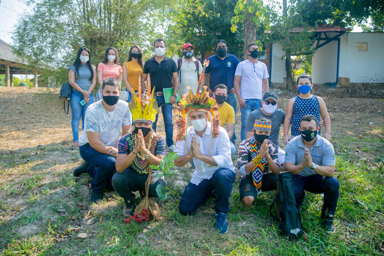 Funtac realiza cultivação e plantio de mudas para celebrar o Dia da Amazônia