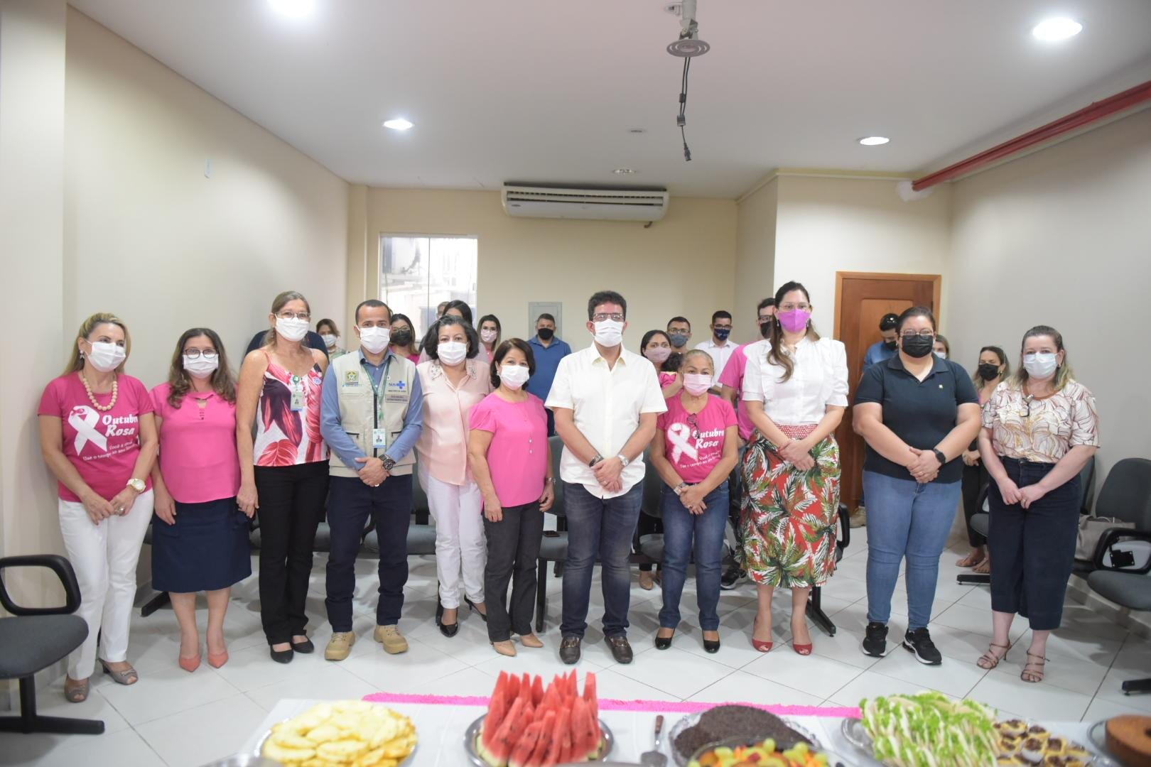 """""""Vocês são os heróis"""", diz governador durante café da manhã com servidores do Ministério da Saúde no Acre"""