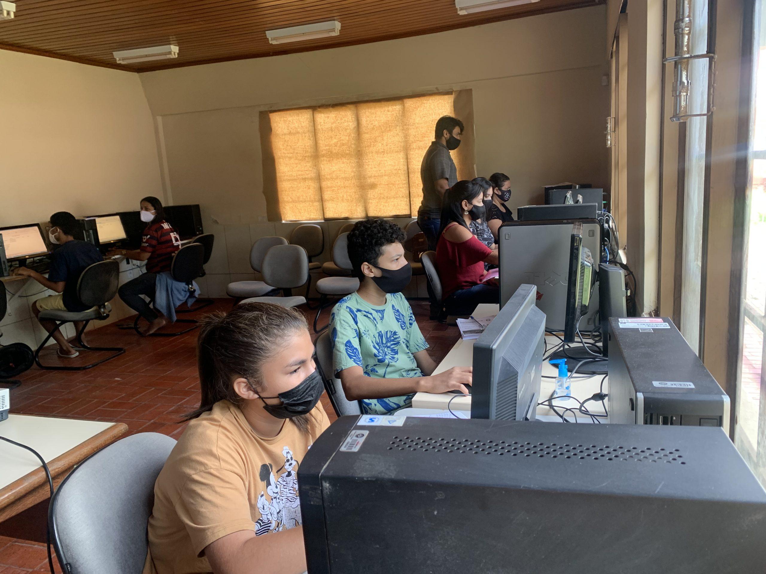 Tecnologia do Estado já capacita mais de mil alunos em cursos livres