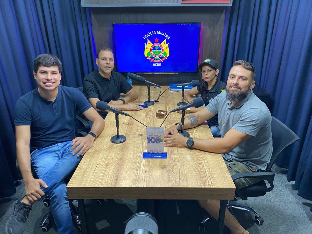 Polícia Militar do Acre estreia podcast no YouTube