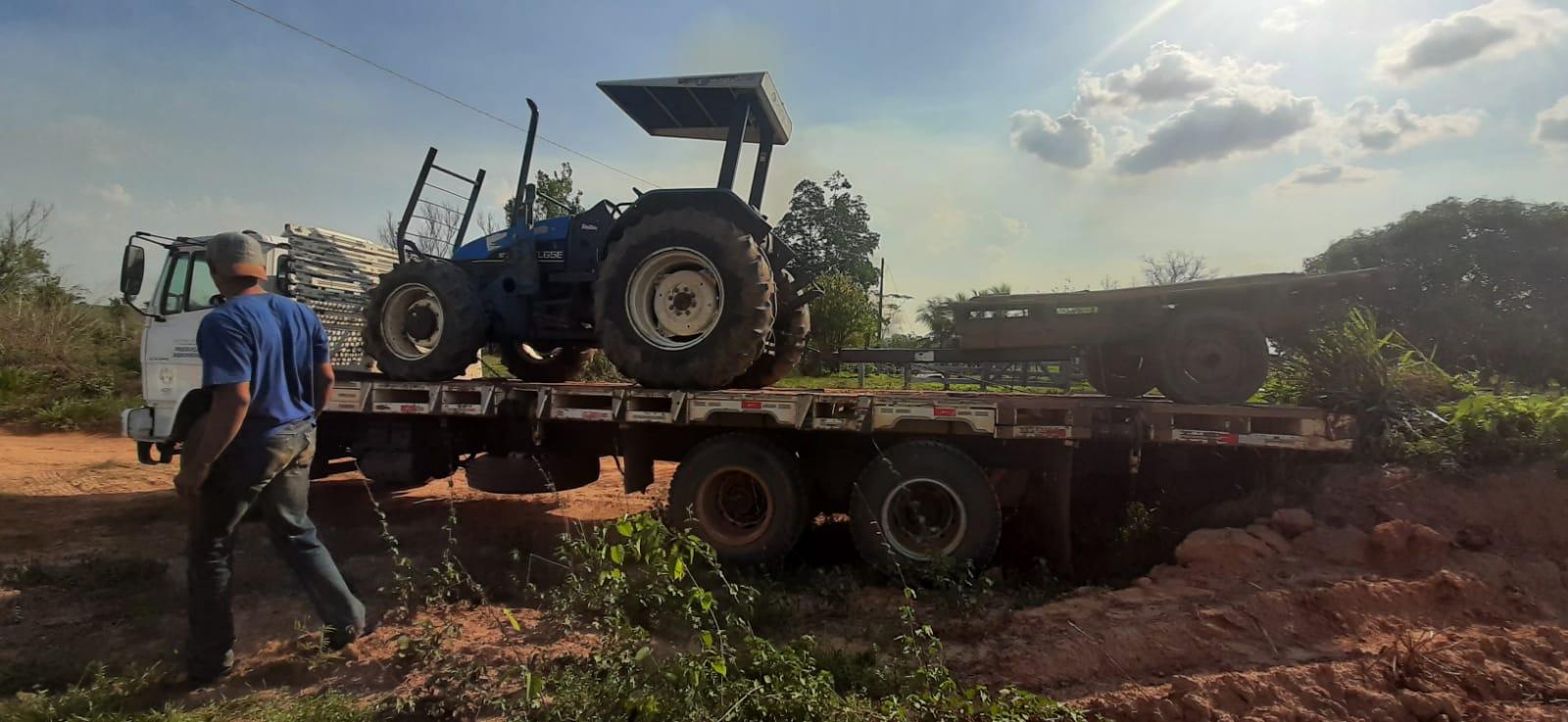Governo intensifica localização e recolhimento de máquinas agrícolas na região do Alto Acre